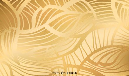 Fondo de red de oro