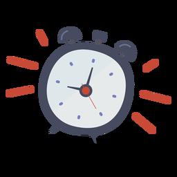 Reloj despertador sonando doodle