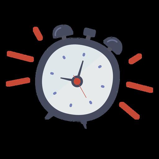 Alarm clock ringing doodle Transparent PNG