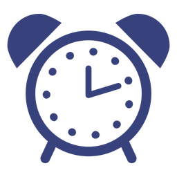 Alarm clock stroke icon