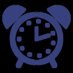 Icono de movimiento del reloj de alarma