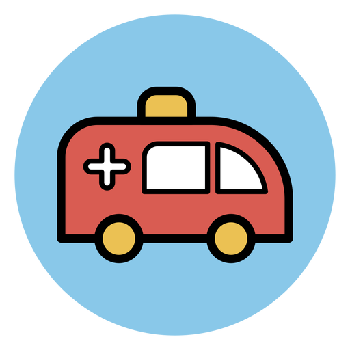 Ícone de ambulância Transparent PNG