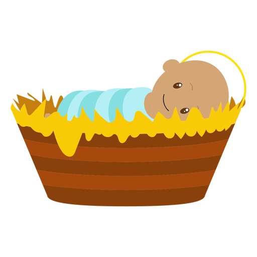 Baby jesus character illustration Transparent PNG