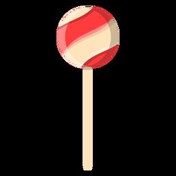 Ball lollipop icon