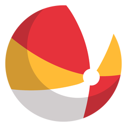 Beach ball icon playground
