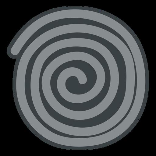 Icono de rueda de regaliz negro
