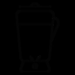 Icono de trazo de Blender