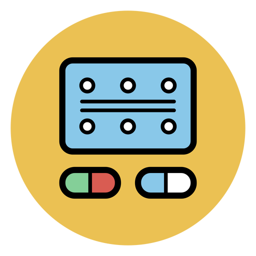 Blister pack icon Transparent PNG