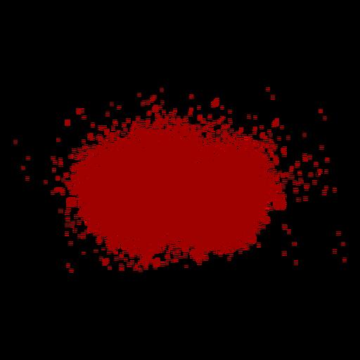 Blood splash flat icon Transparent PNG