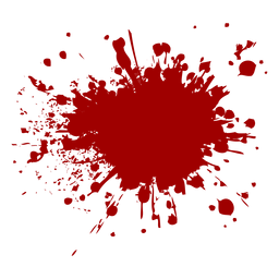 Blood splatter icon