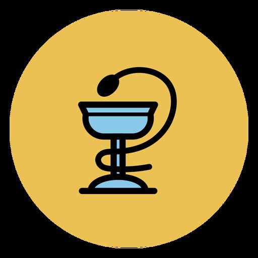 Tazón de fuente de icono de hygieia