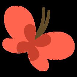 Schmetterling Tierkarikatur