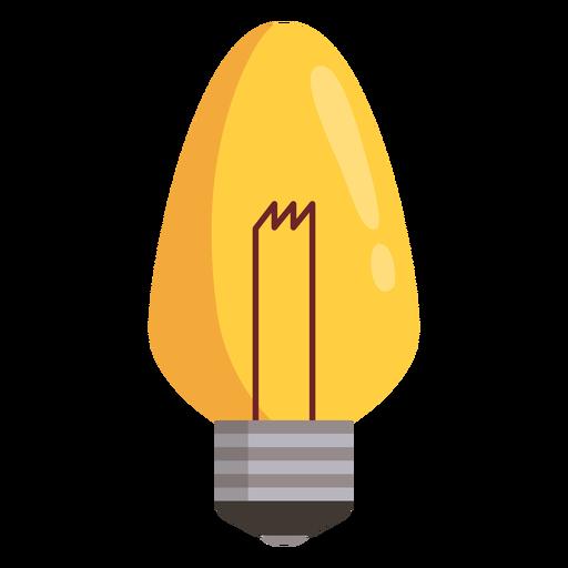 Candle light bulb Transparent PNG