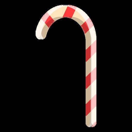 Ícone de bengala de doces Transparent PNG