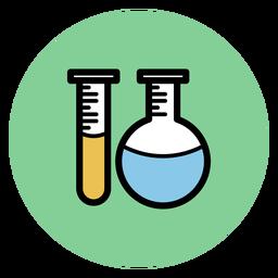 Icono de tubos de química
