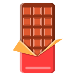 Icono de barra de chocolate