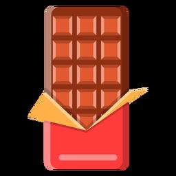 Icono de la barra de chocolate