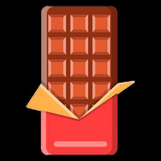 Barra de chocolate Transparent PNG