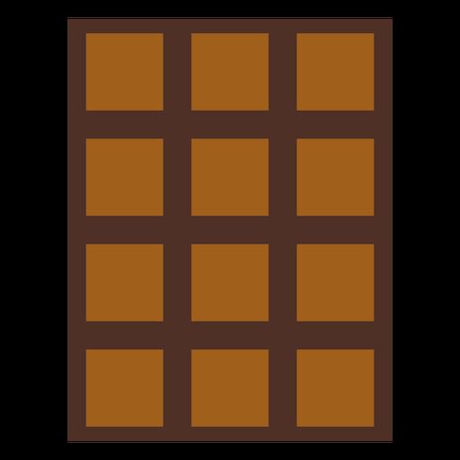 Ícone de sobremesa de ícone de barra de chocolate Transparent PNG