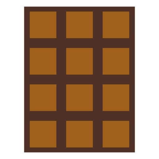 Icono de barra de chocolate icono de postre Transparent PNG