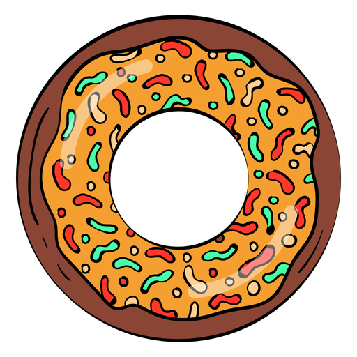 Caramelo de chocolate con dibujos animados Transparent PNG