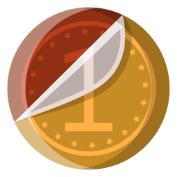 Chocolate coin icon