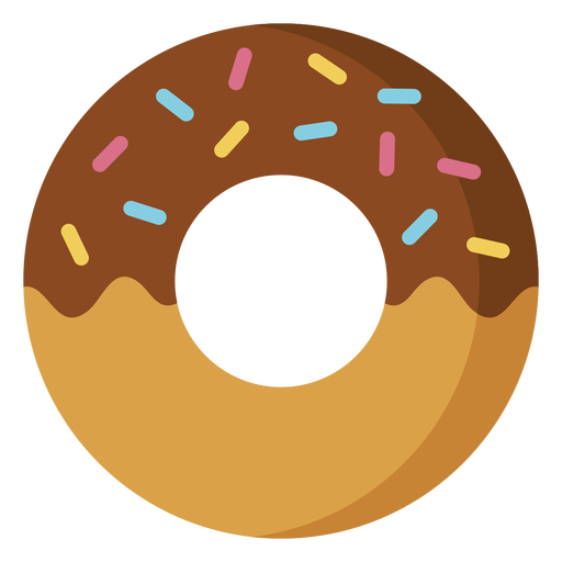 Chocolate doughnut icon dessert icon Transparent PNG