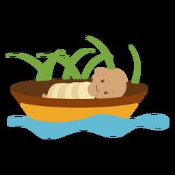 Ilustración de personaje de niño de Cristo