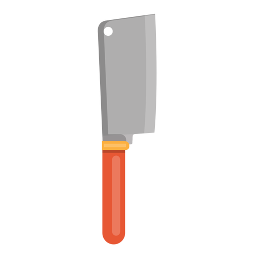 Cleaver knife icon Transparent PNG