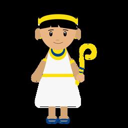 Ilustración del personaje cleopatra