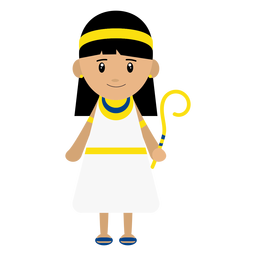 Kleopatra-Zeichenillustration