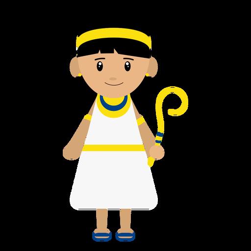 Cleopatra character illustration Transparent PNG