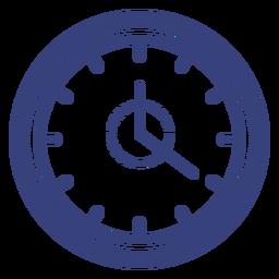 Ícone de traço de relógio