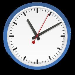 Ilustración de vector de reloj