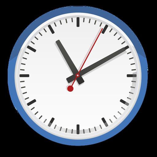 Clock vector illustration Transparent PNG