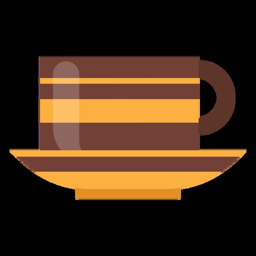 Icono de la taza de cafe Transparent PNG