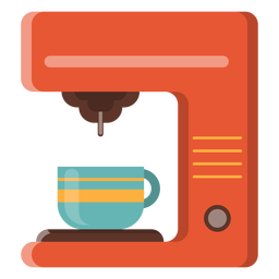Ícone de máquina de café