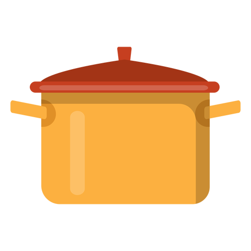Icono de olla de cocina Transparent PNG