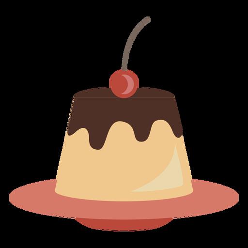 Creme caramel icon Transparent PNG
