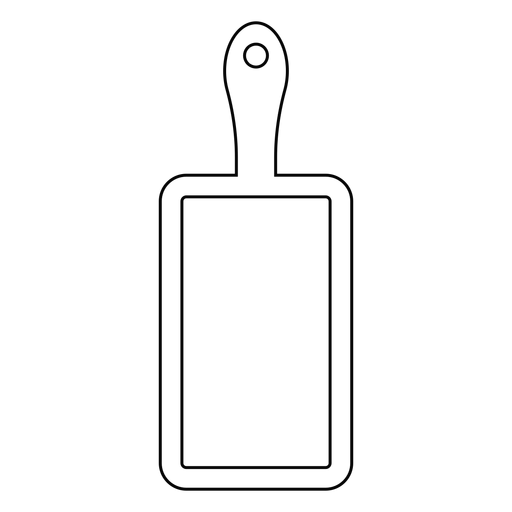 Icono de trazo de tabla de cortar Transparent PNG