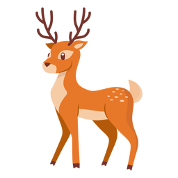 Deer animal cartoon
