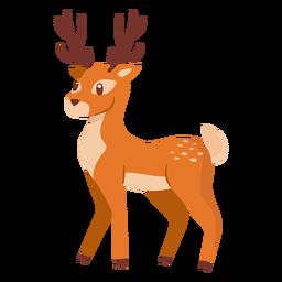 Desenhos animados animais dos cervos