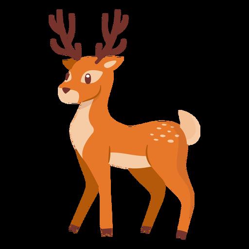 Dibujos animados de animales ciervos Transparent PNG