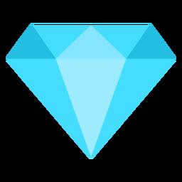 Ícone plano de diamante
