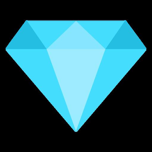 Icono plano de diamante Transparent PNG