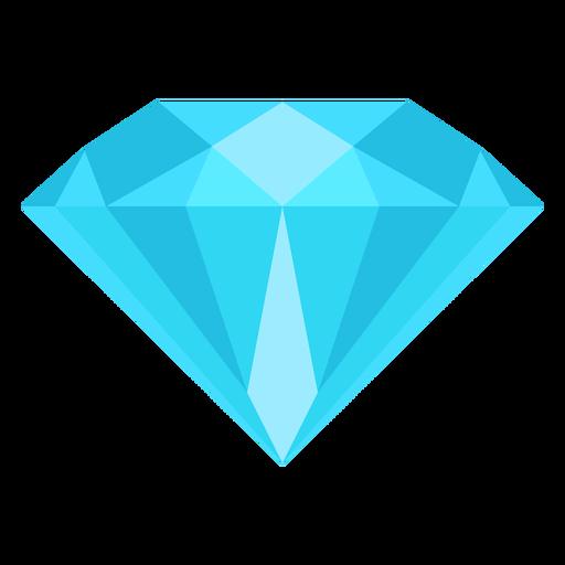 Diamond gemstone flat icon Transparent PNG