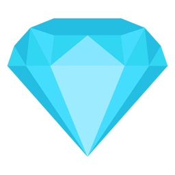Diamond jewel flat icon
