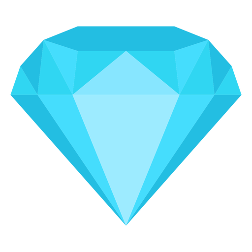 Diamond jewel flat icon Transparent PNG