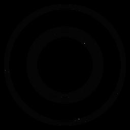 Essteller-Strich-Symbol