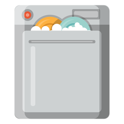 Dishwasher machine icon